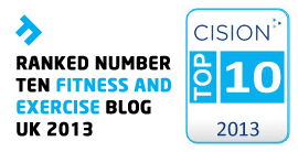 Cision Top 10 Fitness Blogs