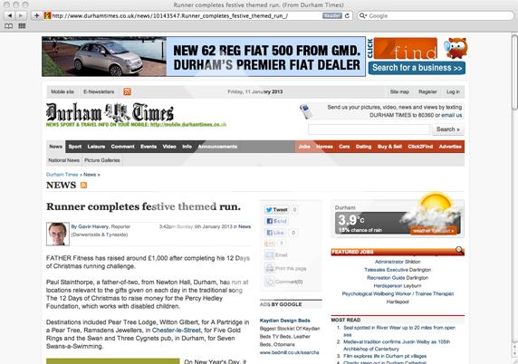 Durham Times Online