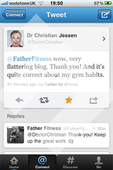 Doctor Christian Tweet