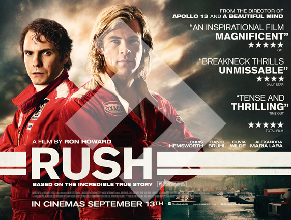 Rush Film Movie Poster
