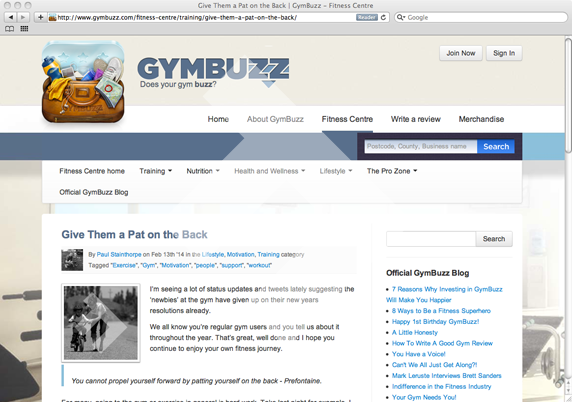 GymBuzz - Father Fitness