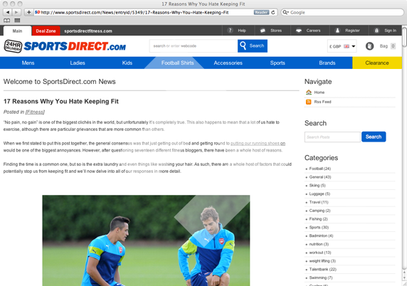 Sports Direct - Father Fitness