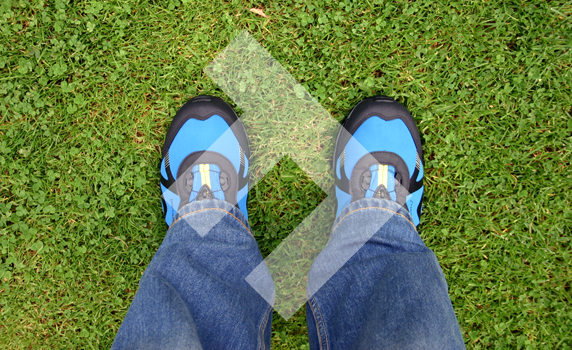 Acceleration Men's Vibram Trail Running Shoes 6