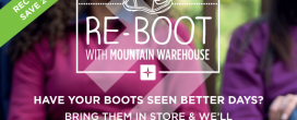Re-Boot With Mountain Warehouse