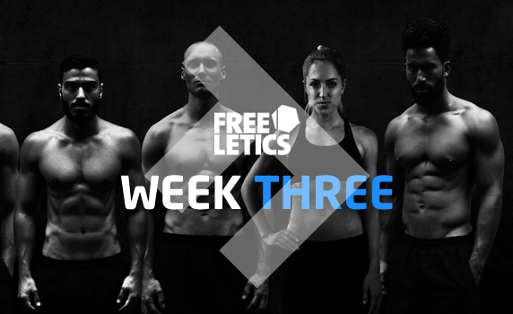 freeletics-week-three