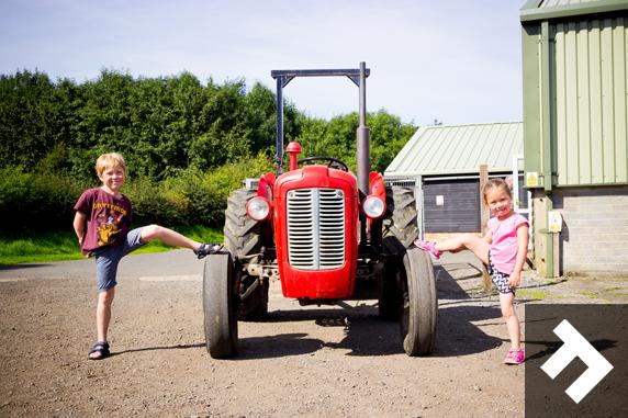Fun At Whitehouse Farm - Tractor