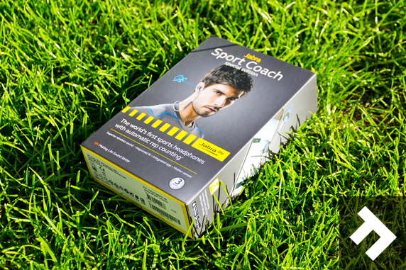 Jabra Sport Coach Headphones Review - Box
